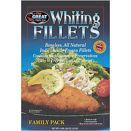 The Great Fish Co. Whiting Fillets - 5 lbs.