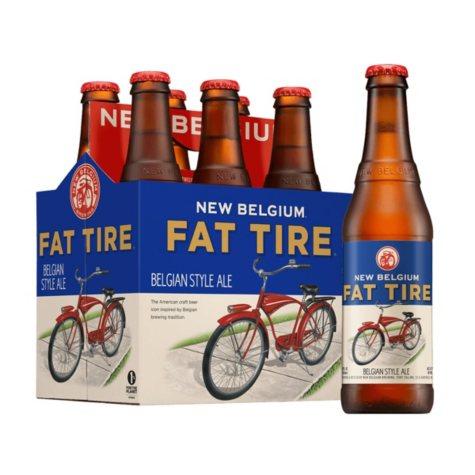 New Belgium Fat Tire Amber Ale (12 fl. oz. bottle, 6 pk.)