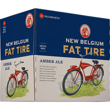 FAT TIRE AMBER ALE 12 / 12 OZ BOTTLES