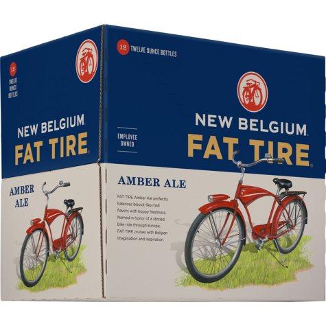 New Belgium Fat Tire Amber Ale (12 fl. oz. bottle, 12 pk.)