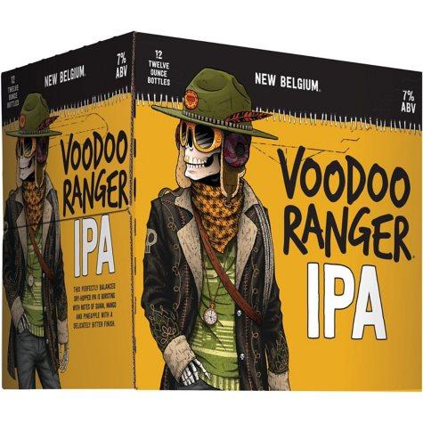 New Belgium VooDoo Ranger IPA (12 fl. oz. bottle, 12 pk.)