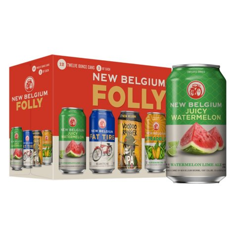 New Belgium Folly Pack (12 fl. oz. can, 12 pk.)