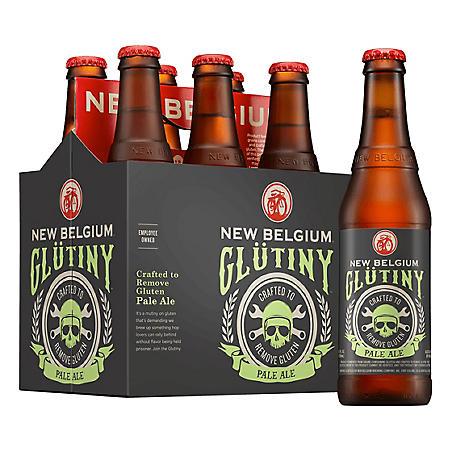 New Belgium Glutiny Pale Ale (12 fl. oz. bottle, 6 pk.)