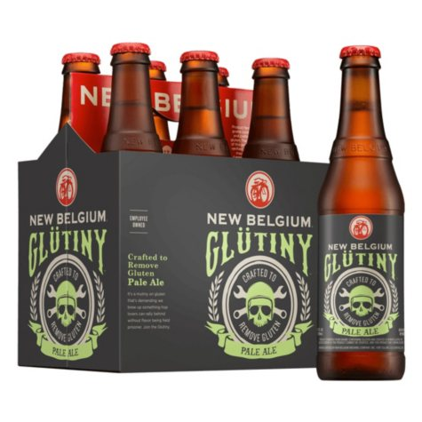 New Belgium Glutiny Pale Ale (12 fl. oz. bottle, 6 pk.)