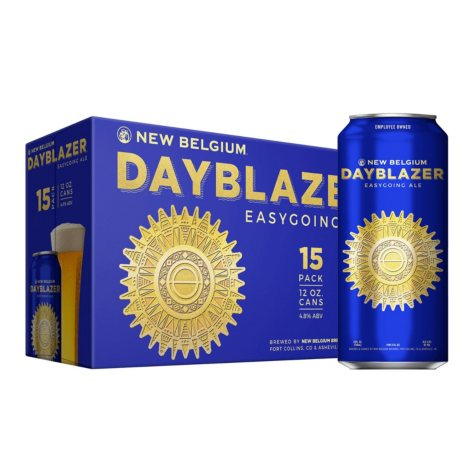 NEW BELG DAYBLAZER 15 / 12 OZ CANS