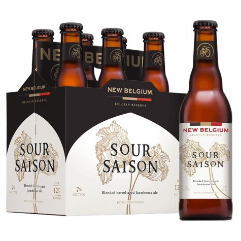 New Belgium Sour Saison Ale (12 fl. oz. bottle, 6 pk.)