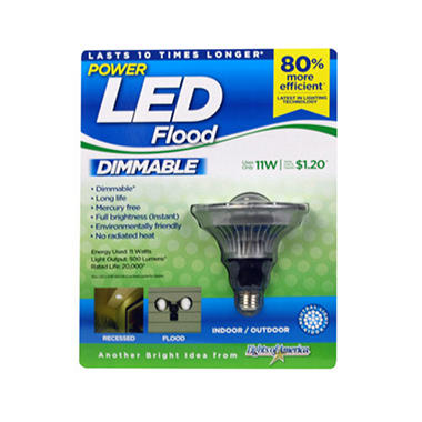 11W LED INDOOR/OUTDR DIMABLE PAR 38 FLOOD