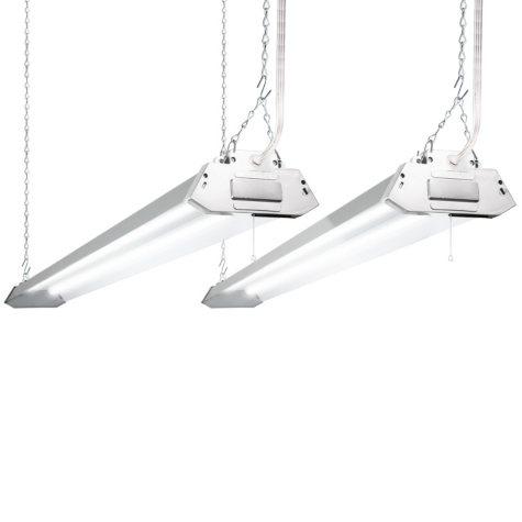 Lights of America 4-foot LED Shoplight (2 pk.)
