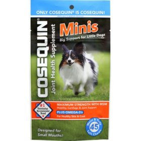 Cosequin Minis with MSM & Omega 3's (45 ct.)