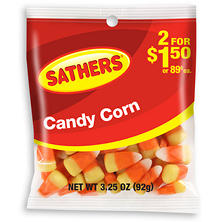 Sathers Candy Corn (3 oz. bag, 12 ct.)