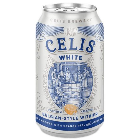 Celis White Belgian-Style Witbier (12 fl. oz. can, 6 pk.)