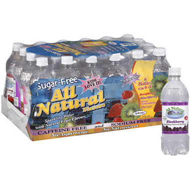 All Natural Sparkling Water Variety - 24/20oz