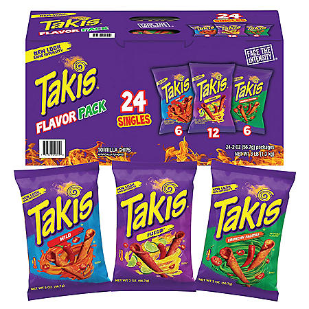Takis Flavor Pack (2 oz., 24 pk.)