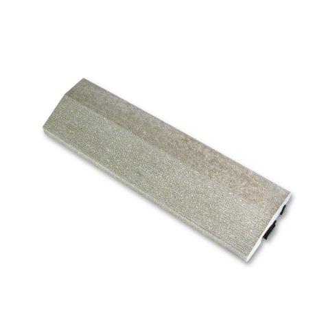LifeCycle EcoDek Edge Finishing Strip - Gray