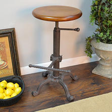 Restoration Adjustable Stool