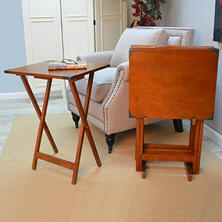 Kylie TV Tray Tables, Set of 4