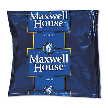Maxwell House Ground Coffee Packets, Regular Roast (1.5 Oz., 42 Ct.