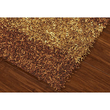 Visions Collection Shag Area Rug (Assorted Sizes and Colors)