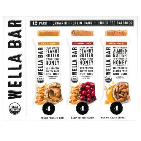 Wella Bar Fresh Protein Bars Variety Pack (12 pk.)