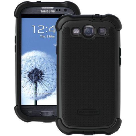Ballistic SG MAXX Case for Samsung Galaxy SIII - Black / Black
