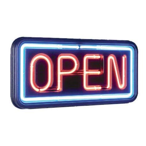 """Neon """"Open"""" Sign"""