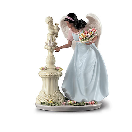 Ethnic Porcelain Angel