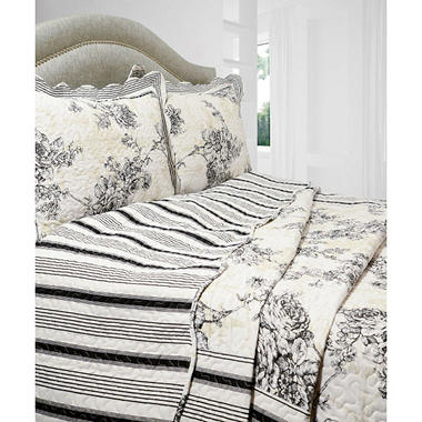 Vintage Classics Collection Emory Quilt Set