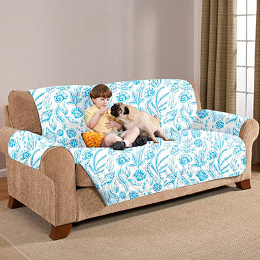 Quilted Water-Absorbent Reversible Furniture Protectors - Sofa (Various Colors)
