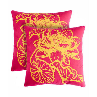 Fleur Decorative Pillows, Set of 2