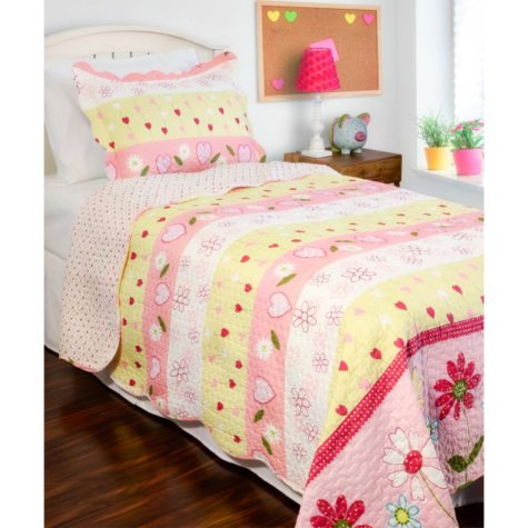 Vintage Classics Collection Daisy Mae Kid's Quilt Set