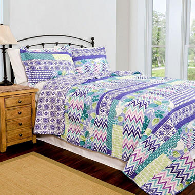 Home ID Collection Melrose Quilt Set