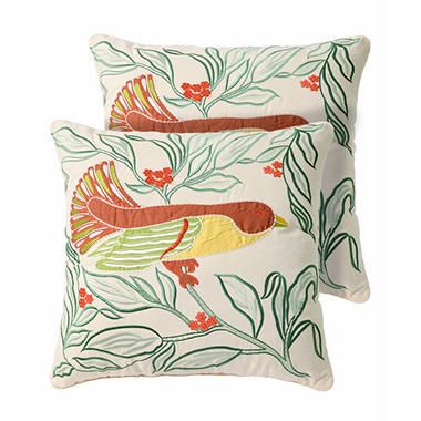 Eden Decorative Pillows, Set of 2
