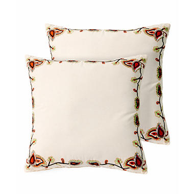Gardena Decorative Pillows, Set of 2
