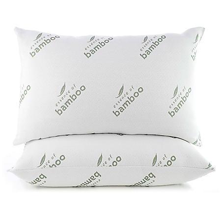 Essence Of Bamboo Classic Memory Foam Pillow Sam S Club