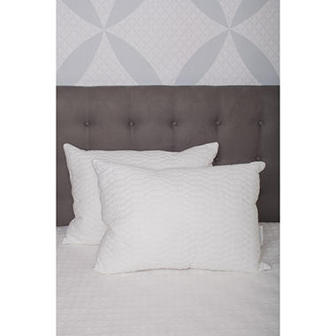 Waterford Marquis Raindrop Cotton Quilted Twin Pack, Jumbo