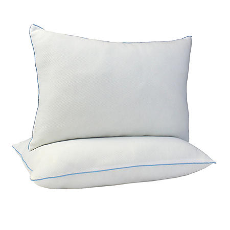 ISO-Pedic Tranquility Fresh Linen Scented Knit Pillow (Set of 2)