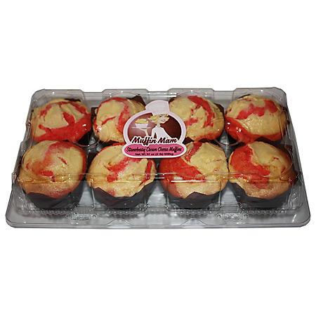 Muffin Mam Strawberry Cream Cheese Muffins (8 ct.)