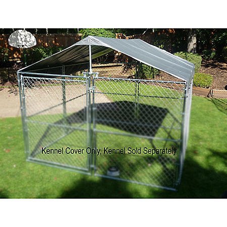 Weatherguard Universal  10' W X 10' L Kennel Cover with Frame