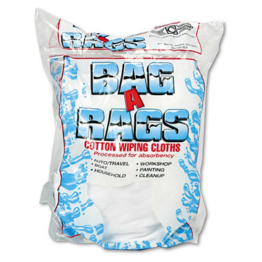 Bag-A-Rags Reusable Cotton Cloths - 1 lb. bag