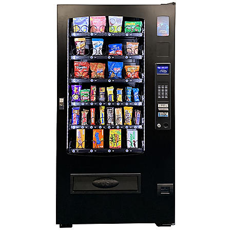 Seaga ADA Compliant 32-Selection Snack/Candy Vending Machine (with or without Card Reader)