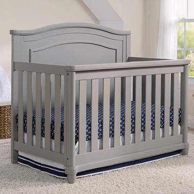 Exceptionnel Simmons Kids Belmont All In One Convertible Crib U0026 Rail Kit (Choose Your  Color