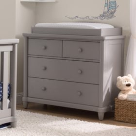 Simmons Kids Belmont 4-Drawer Dresser with Changing Top (Choose Your Color)