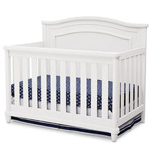 Simmons Kids Belmont All-in One Convertible Crib & Rail Kit (Choose Your Color)