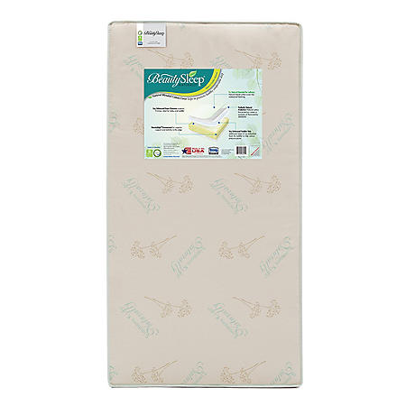 Simmons Kids BeautySleep Naturally Comforting Crib & Toddler Mattress
