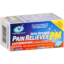CVP Extra Strength Pain Reliever PM (50 ct.)
