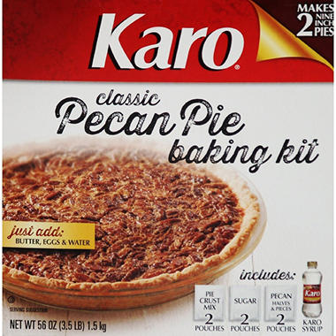 Karo Classic Pecan Pie Baking Kit (makes two 9