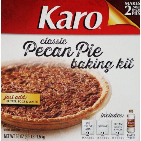 """Karo Classic Pecan Pie Baking Kit (makes two 9"""" pies*)"""