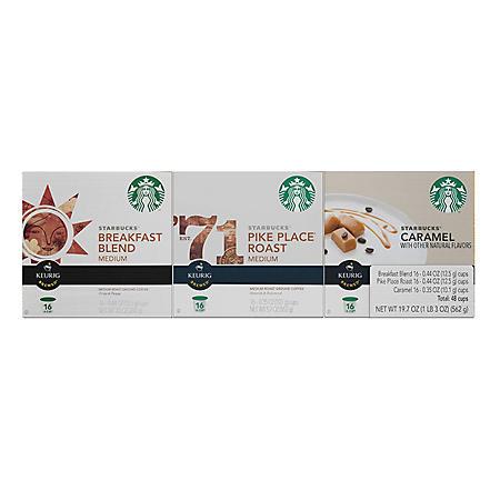 Starbucks K-Cup Pack Variety Pack (48 ct.)
