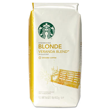 Starbucks Veranda Blend Coffee, Ground (1 lb. bag)