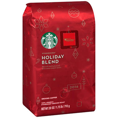 Starbucks Holiday Blend Ground Coffee (28 oz.)